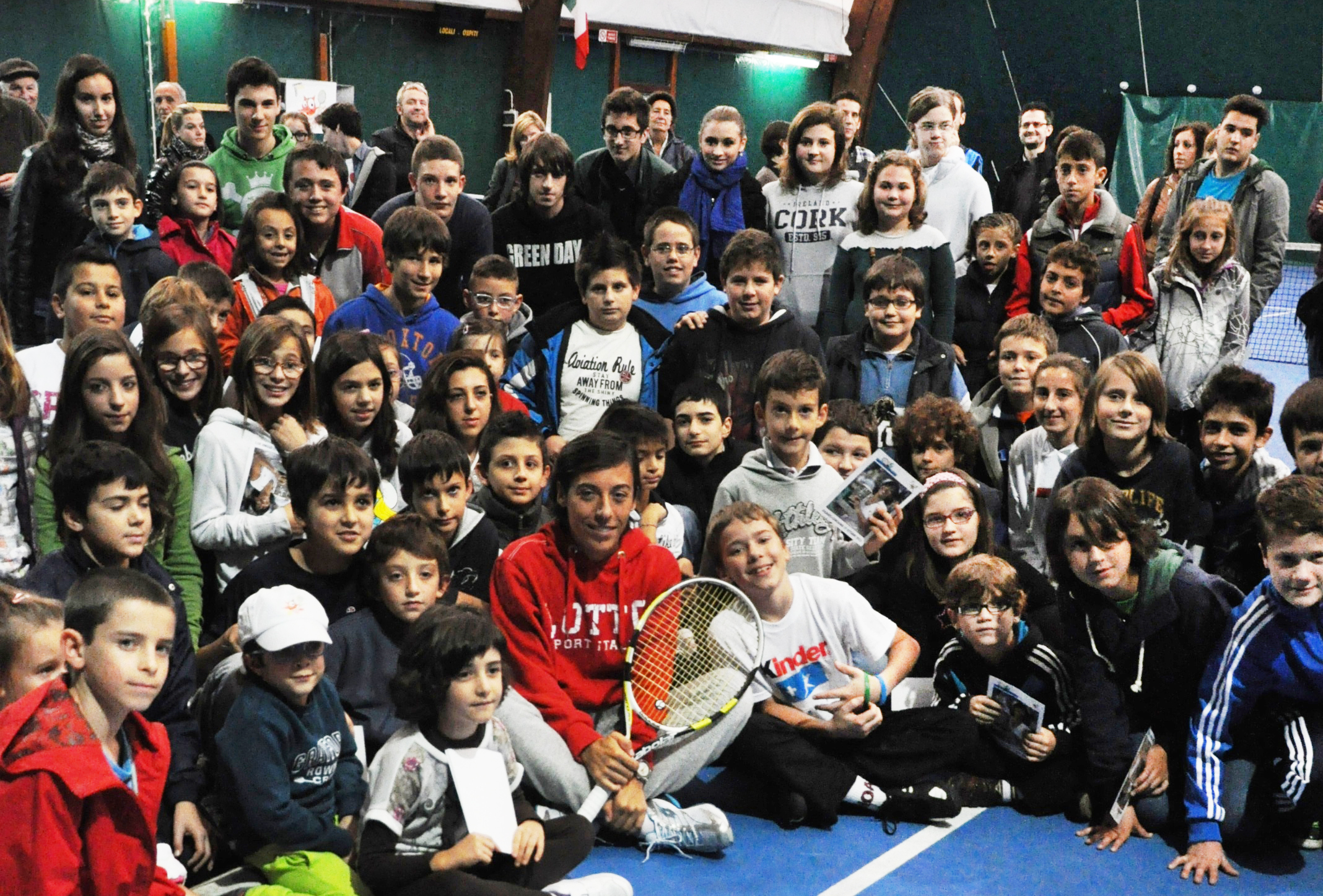 Scuola tennis per bambini e ragazzi