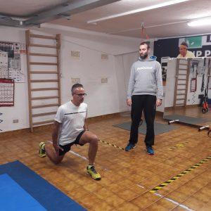 sezione preparazione fisica